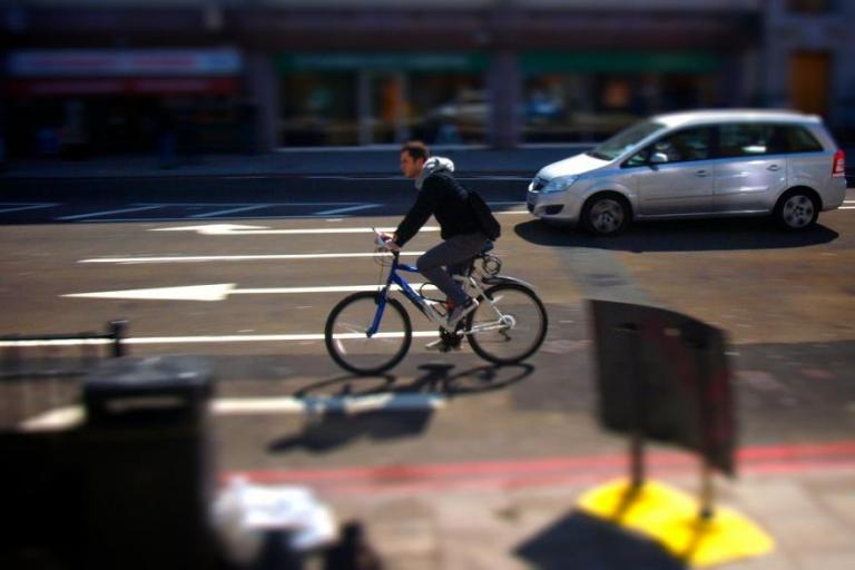 London cyclist approaching junction.jpg