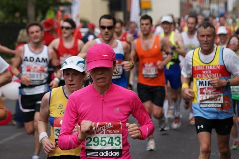 London Marathon (licensed CC BY 2.0 by Julian Mason)