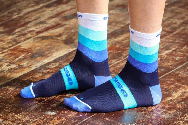 Lusso SoftAir Socks Waves Blue