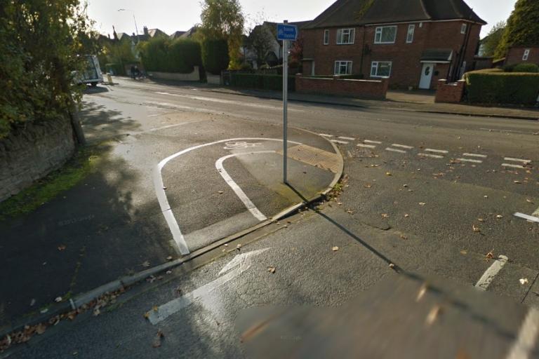 Lynton Road cycle path, Nottingham (via StreetView).jpg