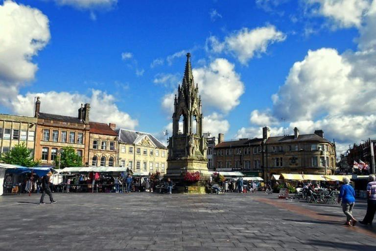 Mansfield Market Square (CC licensed by DncnH via Flickr).jpg