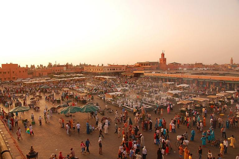Marrakech - CC BY SAA 3.0 by Luc Viatour on Wikimedia Commons