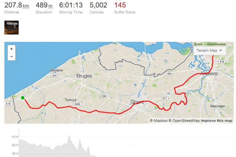 Mathieu van der Poel Change of Plan ride on Strava.PNG