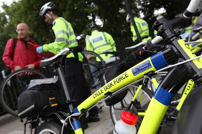 Met Cycle Task Force bike (copyright Transport for London)