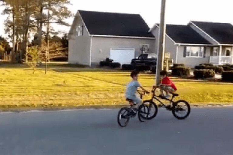 Moment before kids crash on BMX bikes (Instagram still).PNG