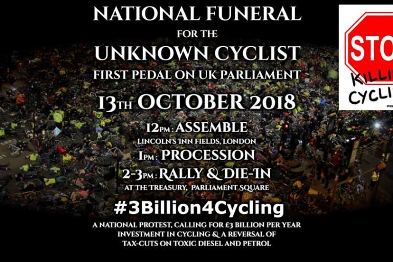 National Funeral for the Unknown Cycling (Stop Killing Cyclists)