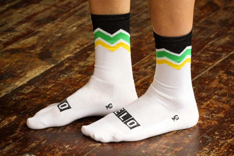 Neon Velo KOM Cycling Sock