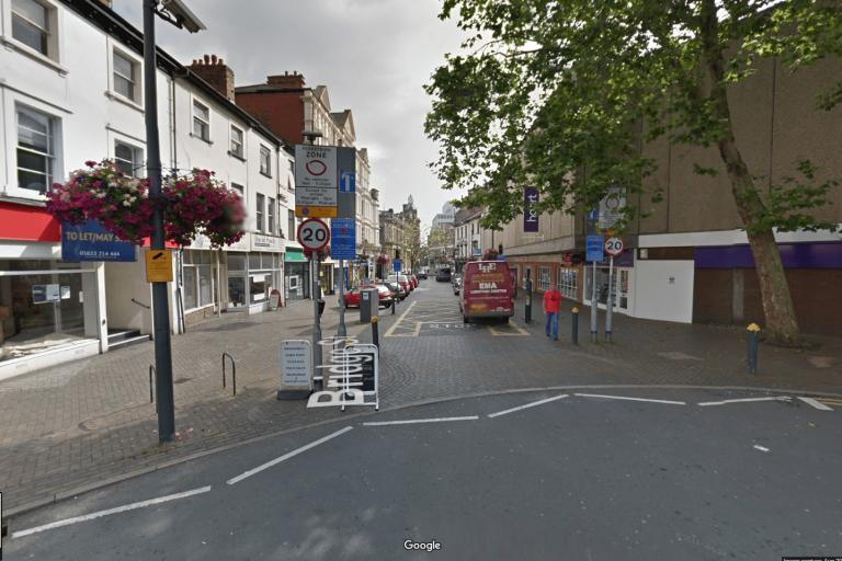 Newport Bridge Street (image from Google Streetview)