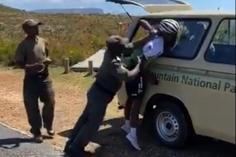 Nic Dlamini (via Twitter video)