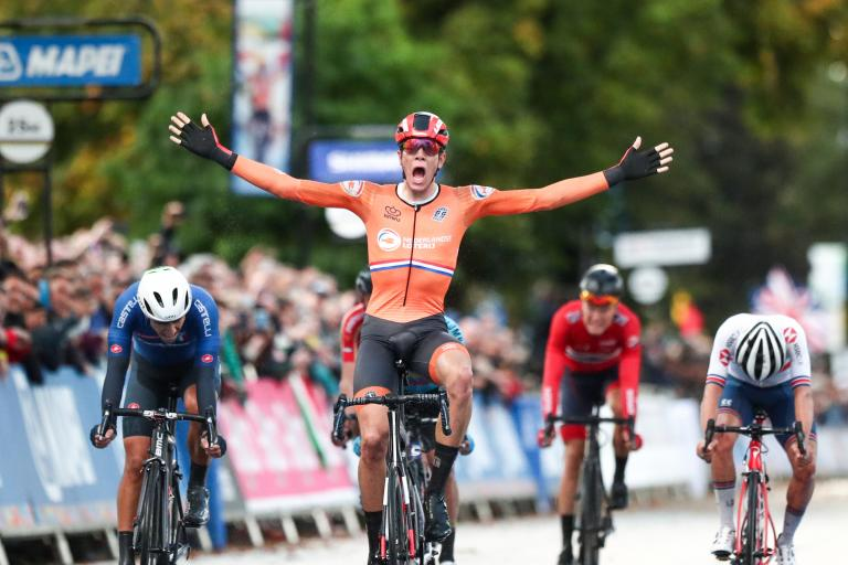 Nils Eekhoff wins U23 road race at Yorkshire 2019 (SWPix.com).JPG