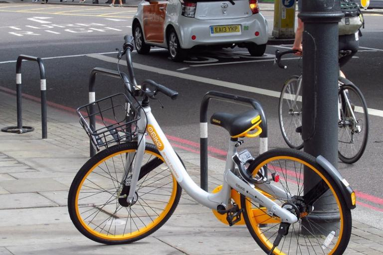 oBike in London (CC licensed by David Holt via Flickr).jpg
