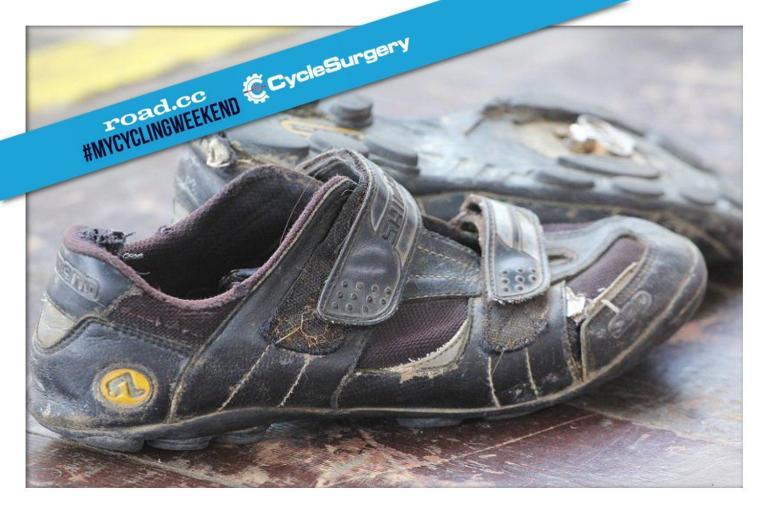 Old Shimano shoes mycyclingweekend.jpg
