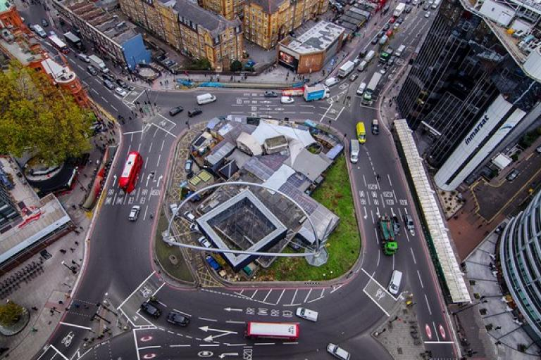 Old Street Roundabout impression