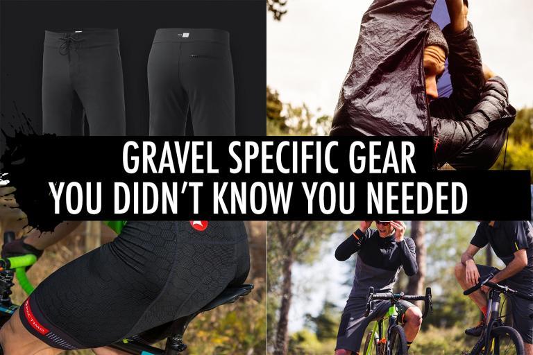 Gravel specific gear header