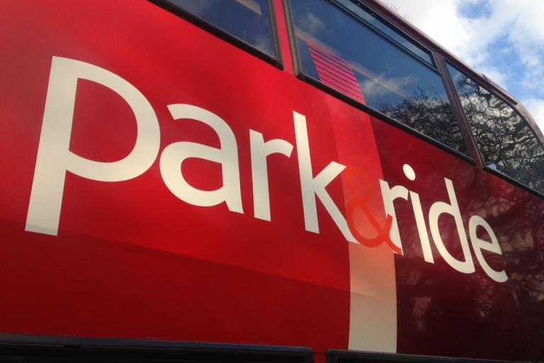 Park and Ride (copyright Simon MacMichael).JPG