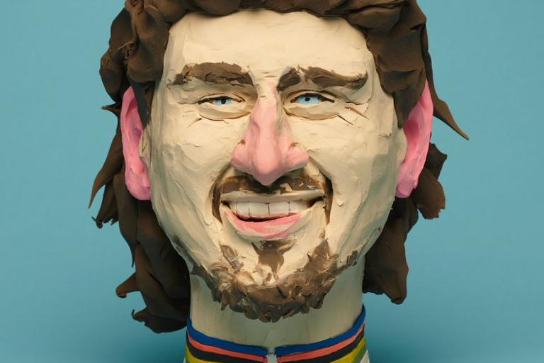 Peter Sagan bust on Rouleur cover