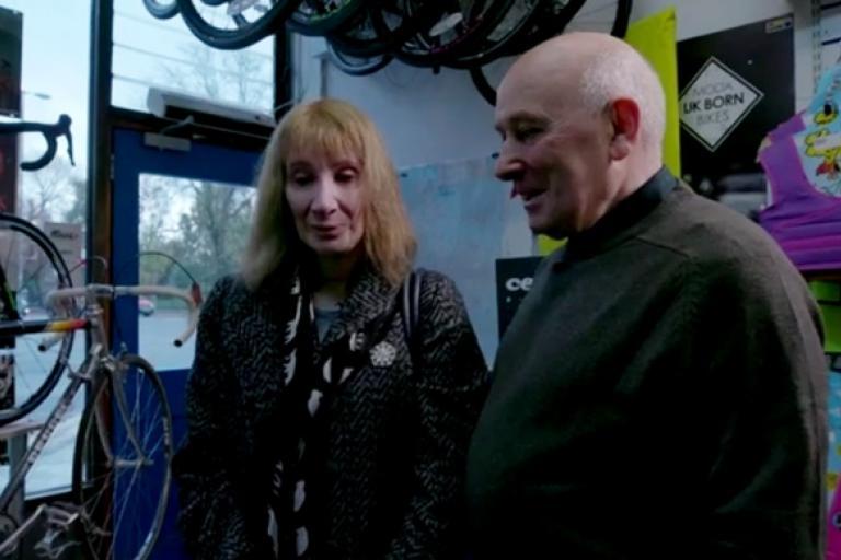 Philippa York meets Barry Bilsland in his bike shop (iPlayer).jpg