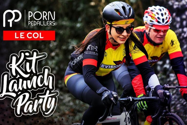 Porn Pedallers kit launch