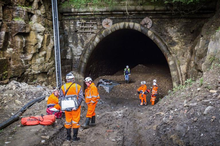QueensburyTunnelSurvey© Forgotten Relics