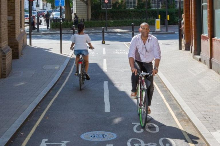 Quietway 2 (picture credit TfL)