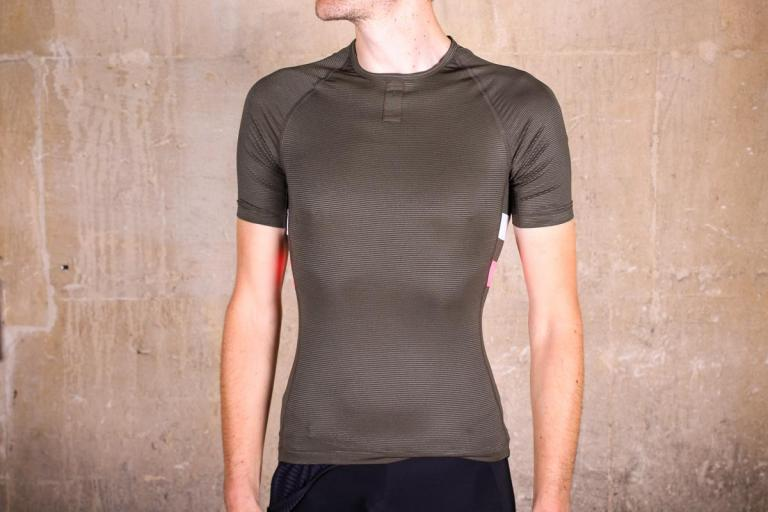 Black Carefully Selected Materials Craft Active Extreme Windstopper Mens Short Sleeve Top Sporting Goods Men's Clothing