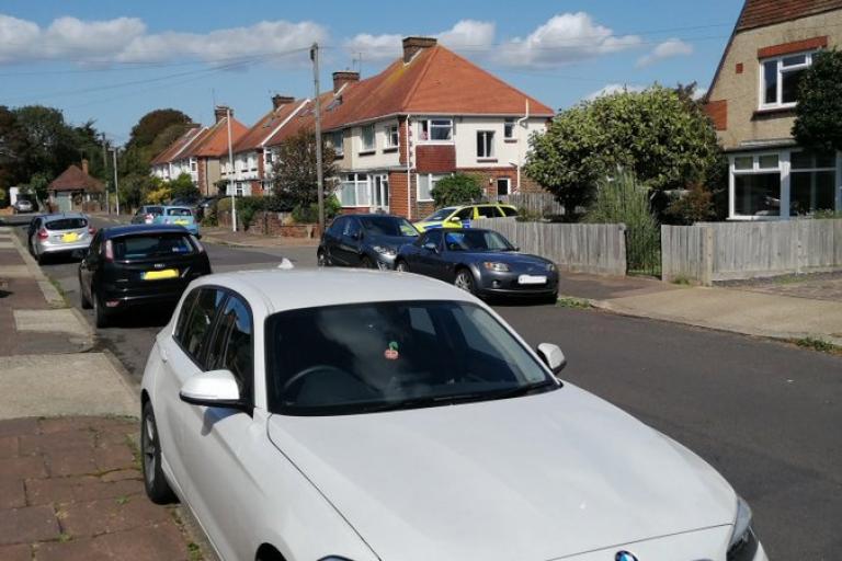 Recovered BMW (picture via slurpinpig on Twitter)