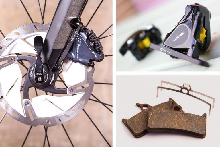 Replacing disc brake pads Sept 2018
