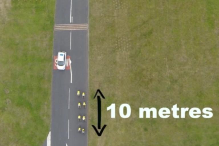 Riding two abreast (still taken from Side-by-Side public information film).jpg