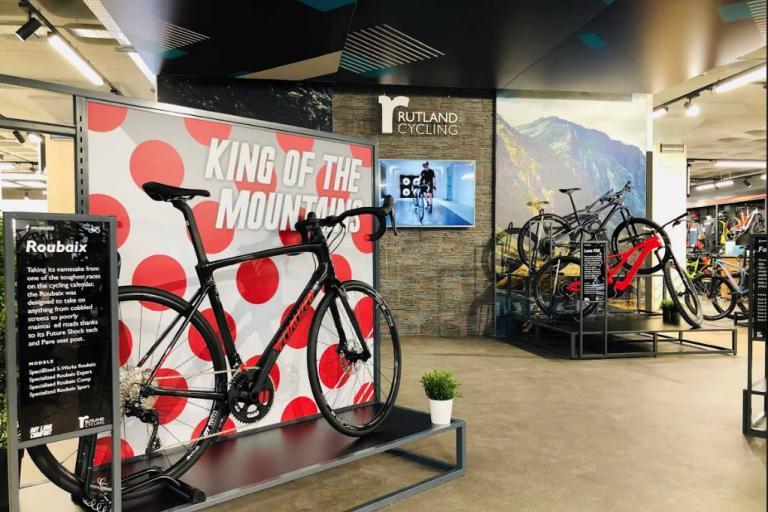 rutland cycling new shop