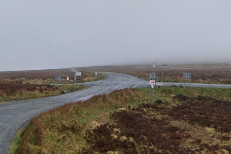 Sally Gap junction (via StreetView)