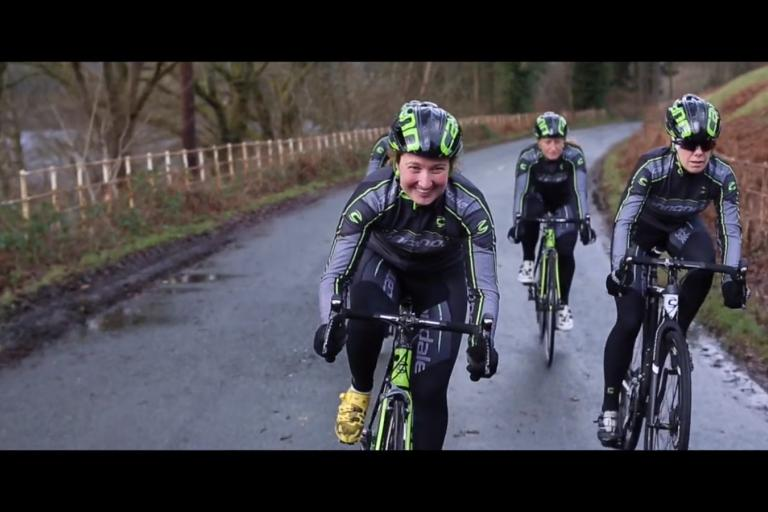 Cannondale Girls still from Milkhut promotions video