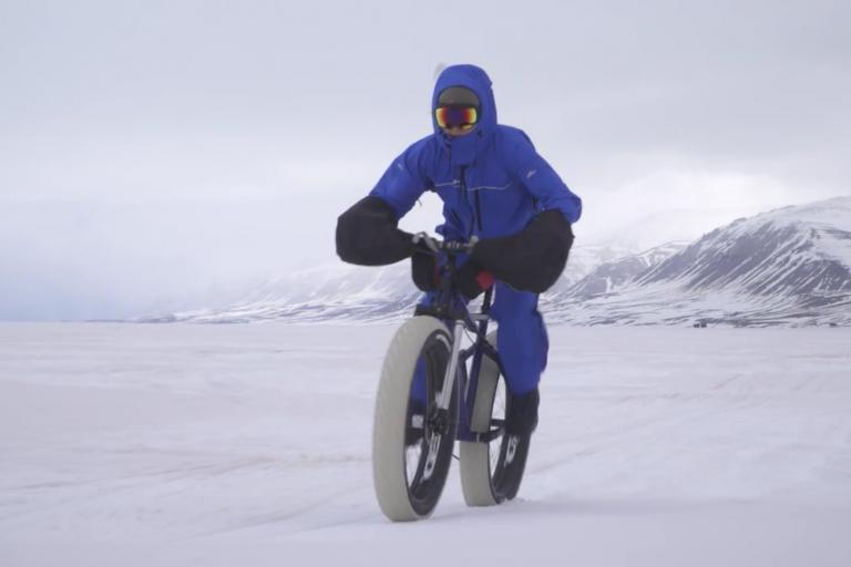 Still from Breaking the Cycle Greenland by Claudio von Planta