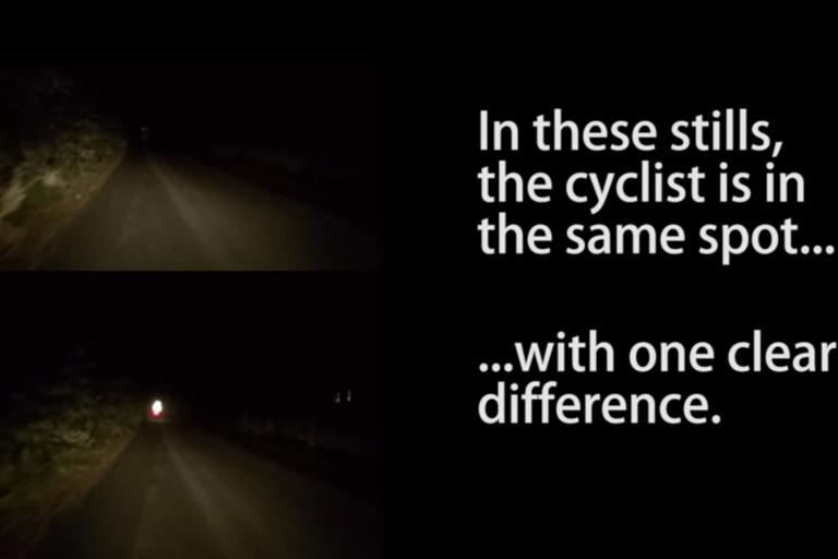 Derbyshire Police reflective clothing at night video