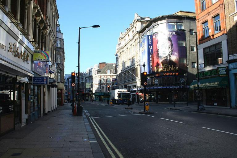 Shaftesbury Avenue free image