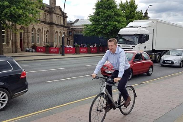 Sheffield Mayor Dan Jarvis