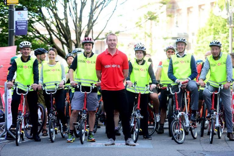 Sir Chris Hoy at HSBC UK BikeFest 2016 in Birmingham (credit Britishcycling.org_.uk).jpg
