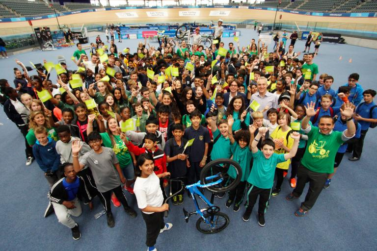 Sustrans Festival 2016 Lee Valley Velopark (image courtesy of Sustrans)