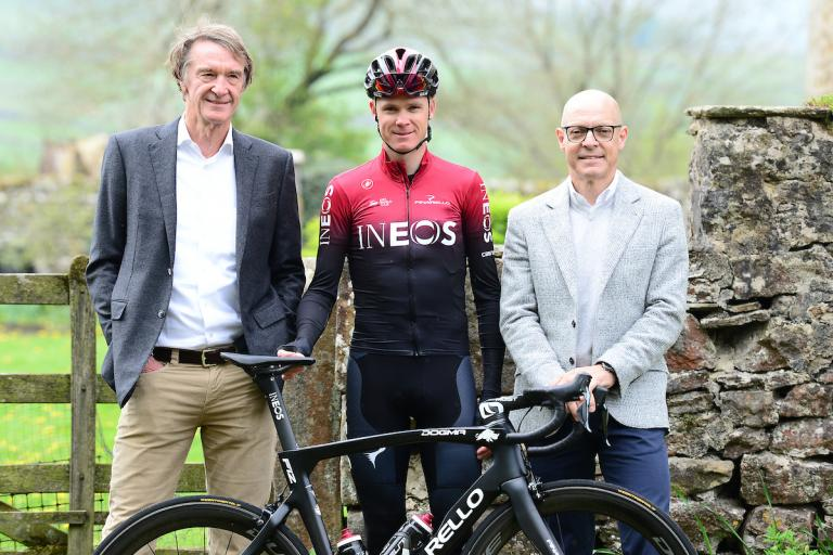 Team Ineos launch (picture credit SWPix.com (34)
