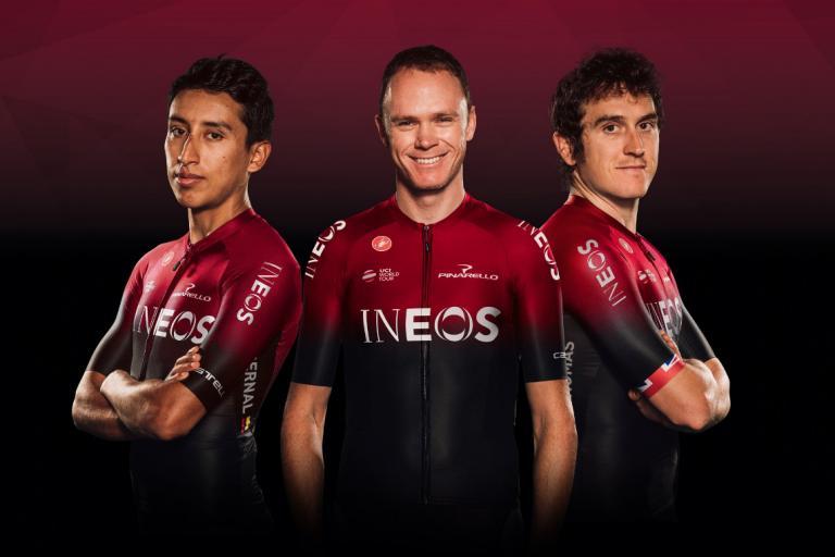 team ineos new kit