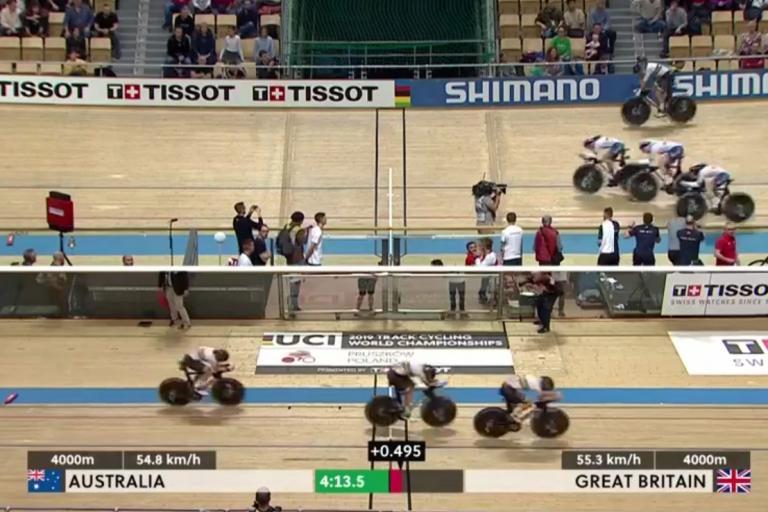 Team pursuit (via BBC)