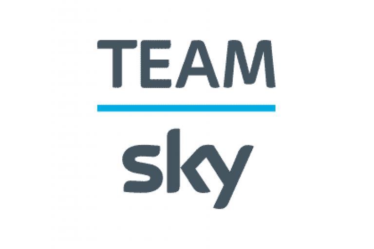 Team Sky logo on white