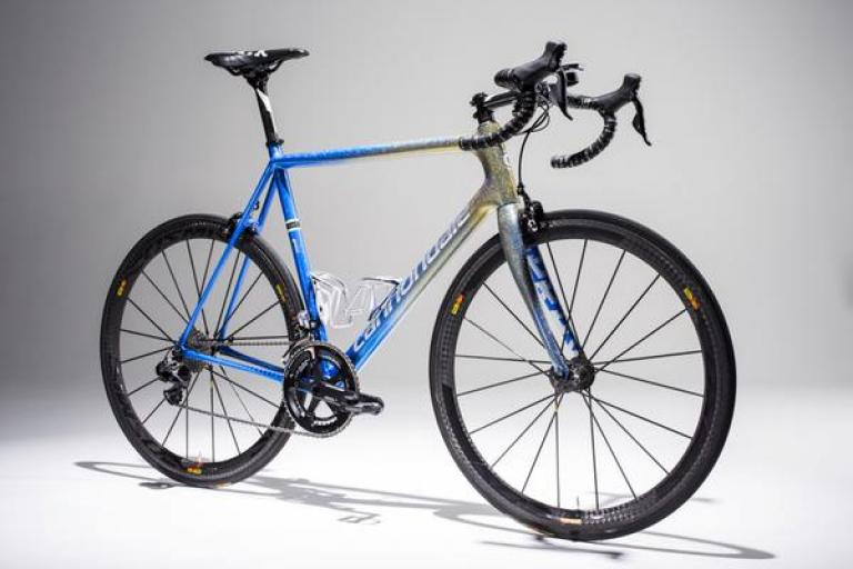 Ted King retirement Cannondale Super Six Evo