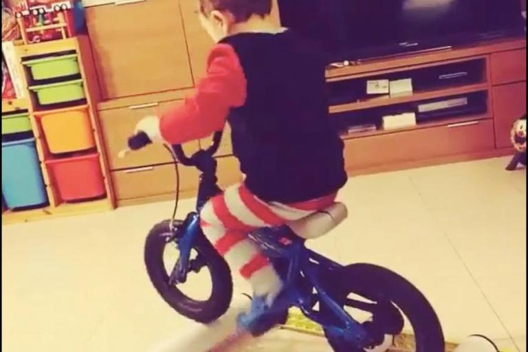 Three year old on the rollers (source braveull2007 Instagram video still).jpg
