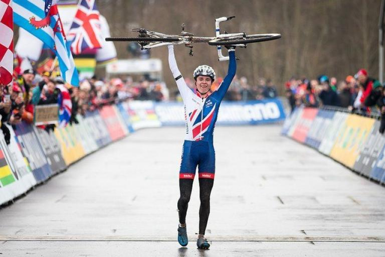 Tom Pidcock wins 2017 Junior World Cyclo-Cross Championship (pictur credit Britishcycling.org_.uk).jpg