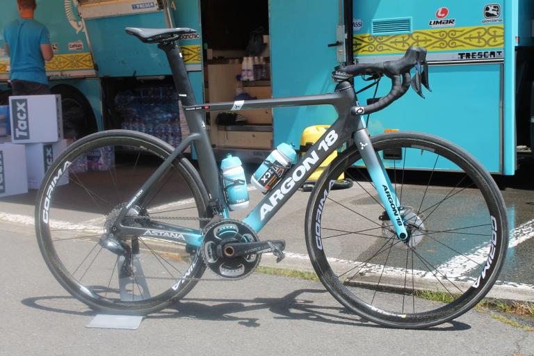 Tour de France 2019 Jakob Fuglsang Argon 18 Nitrogen Disc - 2
