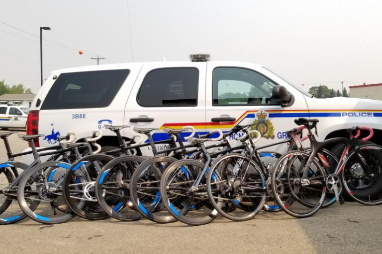 Track bikes recovered by RCMP
