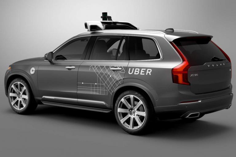 Uber self driving Volvo XC90 - image via Uber.jpg