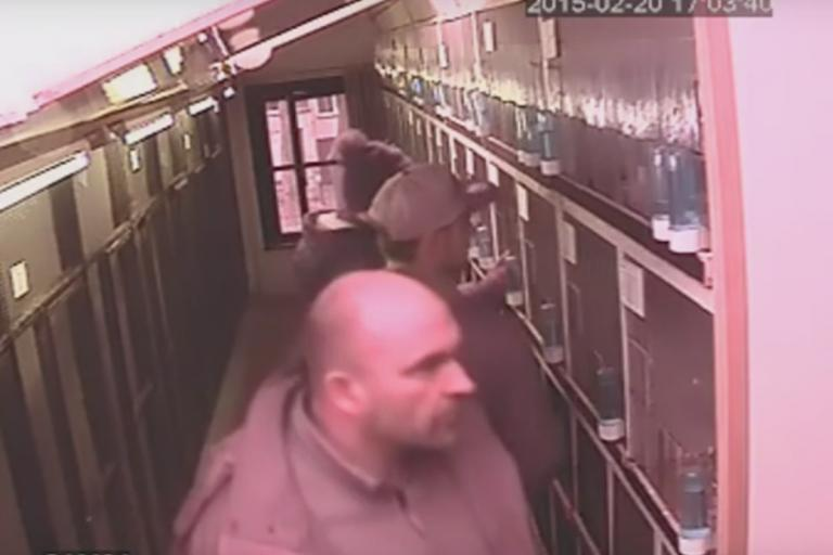 Van den Driessche family stealing Lancashire parakeets (taken from YouTube).jpg