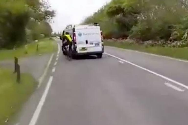 Van driver hits cyclist.jpg