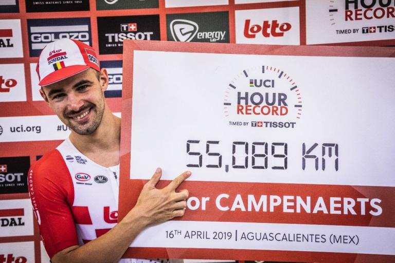 Victor Campenaerts Hour Record